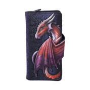 TAKE FLIGHT FLYING DRAGON EMBOSSED PURSE - FASHION - LEATHER