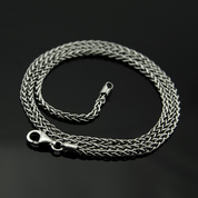 VIKING, SILVER NECK CHAIN - CORDS, BOXES, CHAINS