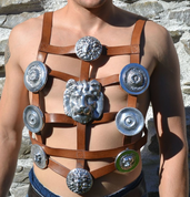 ROMAN GLADIATOR, PHALERAE HARNESS - ARMOR PARTS