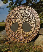 CELTIC TREE OF LIFE, WALL DECORATION - WOODEN STATUES, PLAQUES, BOXES