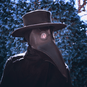 LEATHER HAT, BLACK - LEATHER MASKS