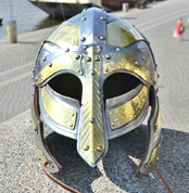ARNGRIM, VIKING HELMET WITH CHEEK-GUARDS - VIKINGERHELME