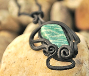 AMAZONITE PENDANT - FANTASY JEWELS