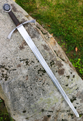 FORGED SWORD OTTOKAR II OF BOHEMIA, BATTLE READY REPLICA - MEDIEVAL SWORDS
