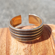 GEIR, VIKING RING, BRONZE - RINGS - BRONZE