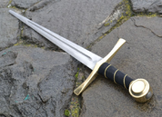 WENZEL, ONE-HANDED SWORD, BRASS - MEDIEVAL SWORDS