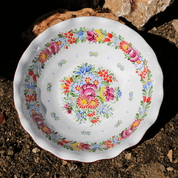 BOWL, CHOD CERAMICS, SUMAVA MOUNTAINS - TRADITIONAL CZECH CERAMICS