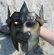 DARK LORD, LEATHER MASK - LEATHER MASKS