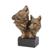 SONG OF THE WILD, BUST - ANIMAL FIGURES