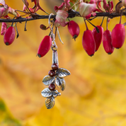 CRANBERRIES, EARRINGS, SILVER - MYSTICA SILVER COLLECTION - EARRINGS