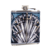 MEDIEVAL SWORD HIP FLASK 7OZ - BOTTLES, HIP FLASKS