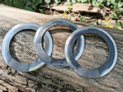 CHAKRAM, A SET OF 3 PIECES - SHARP BLADES - THROWING KNIVES