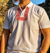 SLAVIC POLO SHIRT WITH EMBROIDERY - PAGAN T-SHIRTS NAAV FASHION