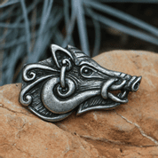 CELTIC BOAR - HEAD, PENDANT, ZINC - CELTIC PENDANTS
