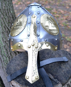 VALKNUT, NORMAN COMBAT READY HELMET - VIKING AND NORMAN HELMETS