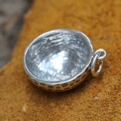 GOLF BALL, SILVER PENDANT - MYSTICA SILVER COLLECTION - PENDANTS