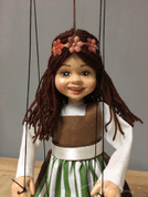 LITTLE GIRL, PUPPET MARIONETTE - SKLAD