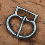 HISTORICAL BUCKLE IV, COLOUR SILVER - BELT ACCESSORIES