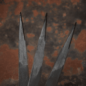 VENGEANCE THROWING KNIVES, SET OF 3 - SHARP BLADES - THROWING KNIVES