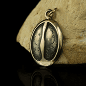 DEER TRACK, PENDANT, BRONZE - BRONZE HISTORICAL JEWELS