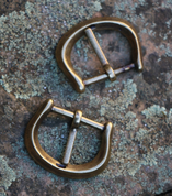 HISTORICAL BUCKLE VIII, COLOUR BRASS - BELT ACCESSORIES