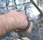 SERPENT, BRACELET D'ÉTAIN - INSPIRATION CELTIQUE