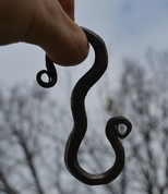 HAND FORGED HOOK FOR CAULDRON - FORGED PRODUCTS
