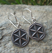 PERUNIKA, SILVER EARRINGS - EARRINGS - HISTORICAL JEWELRY