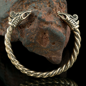DREKI, VIKING BRACELET, BRONZE - VIKING, SLAVIC, CELTIC BRACELETS - BRONZE AND BRASS