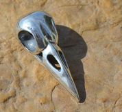 SKULL OF A CROW, PENDANT, SILVER 925, 14 G - MYSTICA SILVER COLLECTION - PENDANTS