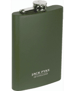 HIP FLASK, STAINLESS STEEL, 8 OZ/235 ML - FOOD - CUTLERY, MESS TINS