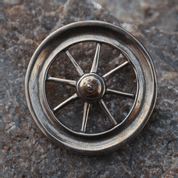 TARANIS WHEEL, BRONZE CELTIC REPLICA - PENDANTS, NECKLACES