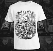 BOHEMIA, KING PREMYSL OTAKAR II. T-SHIRT, WHITE - PAGAN T-SHIRTS NAAV FASHION