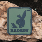 BAD BOY VELCRO RUBBER PATCH - MILITARY PATCHES
