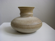 CERAMIC VASE, 10CM - TRADITIONAL CZECH CERAMICS