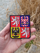 CZECH REPUBLIC - COAT OF ARMS, VELCRO PATCH - MILITARY PATCHES