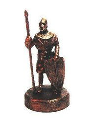 CASTLE GUARD. tin figure