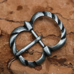 Gothic Buckle for belts and straps, zinc, ant. silver