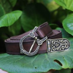 GOTLAND, Viking Belt Brown