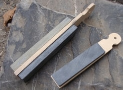 SHARPENING STONE, sandstone and shale