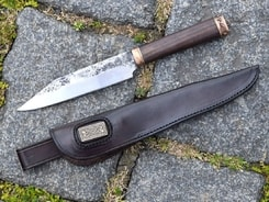 HALDOR, forged knife with sheath