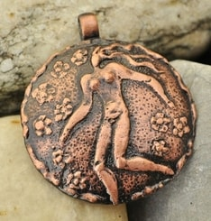 VIRGIN, zodiac, pendant