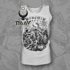 BOHEMIA, King Premysl Otakar II. Sleeveless T-Shirt, white