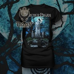 FOREVER PAGAN, women's T-shirt, colored, Naav