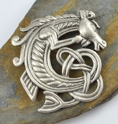 CELTIC HORSE, bijoux, brooch