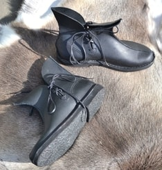 Gothic Shoes, Middle Ages, black