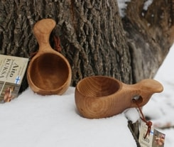 KUKSA, Visakuksa, birch bowl from Lapland