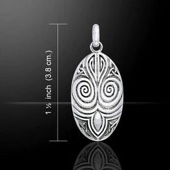 MAORI SILVER TALISMAN New Zealand Pendants