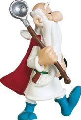 "Figure  ""Getafix with the pot"" serie Asterix"