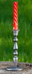 MEDIEVALIUM, forged candlestick